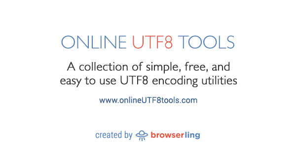 Convert Binary Bits to UTF8 - Online UTF8 Tools